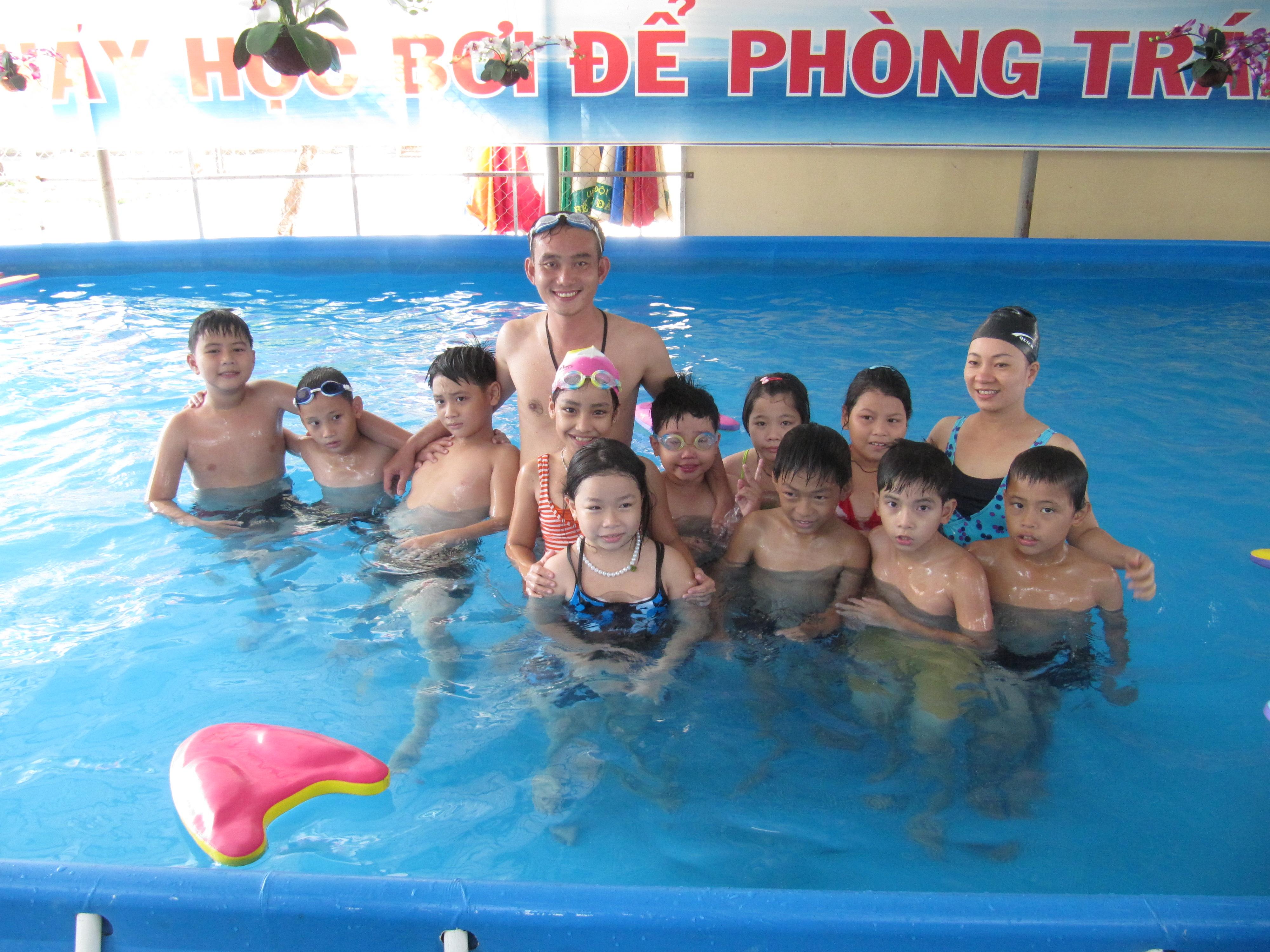 SwimSafe Danang in action in 2011