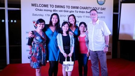 Swing to Swim Fundraiser
